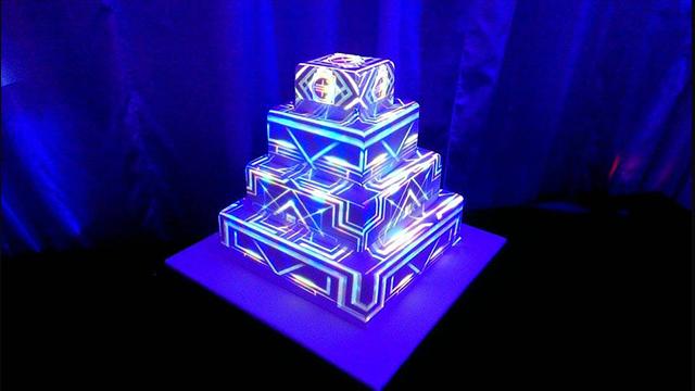 3д маппинг на торт. cobrashow.ru