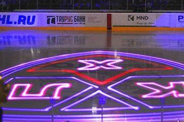 Лазерное шоу на лёд от cobrashow.ru