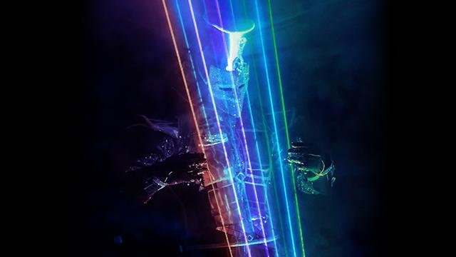лазерное шоу для компании