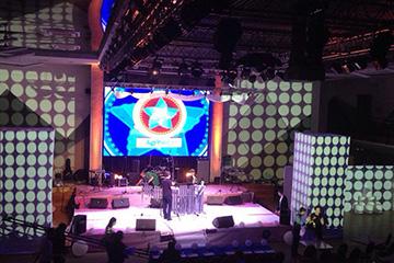 3д мэппинг панорамное шоу cobrashow